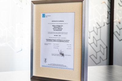 afbeelding NWFF ontvangt ISO 9001:2015 certificaat
